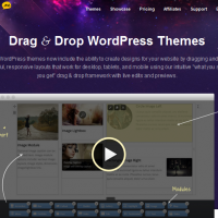 themify drag and drop wordpress themes