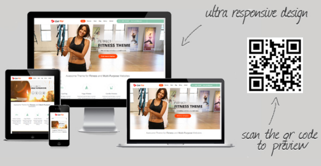 wordpress theme for yoga teacher 9