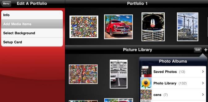 Best iPad portfolio apps for designers 3