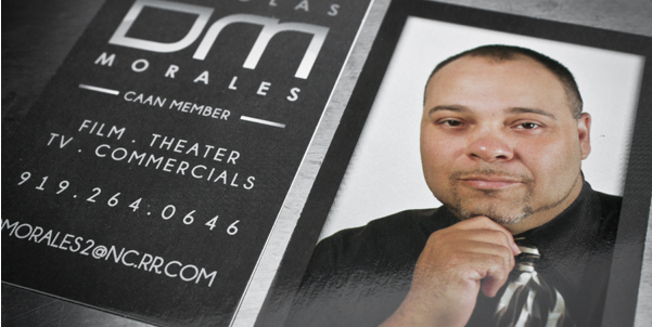 business card with headshots 8
