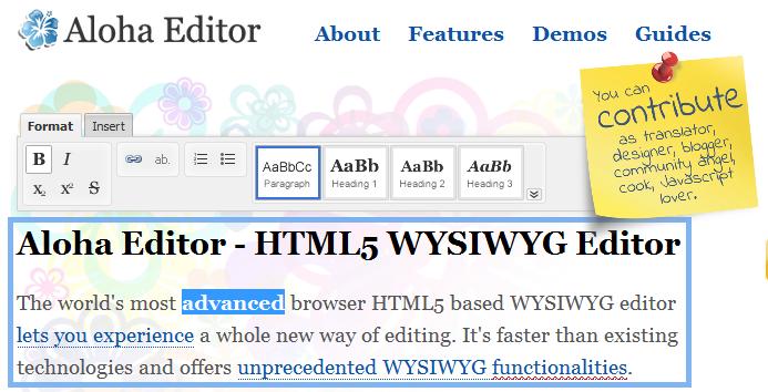 html 5 text editors 1