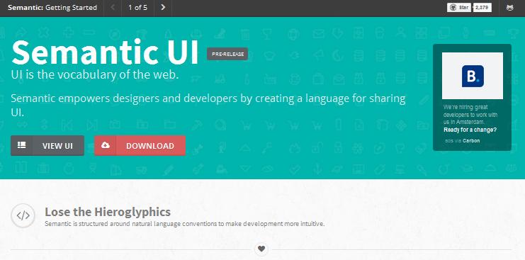 html css framework for 2014 2
