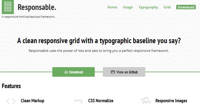 html css framework for 2014 8