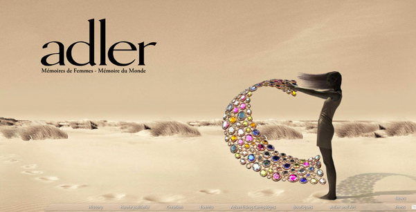 jewellery ecommerce website design inspiration 10