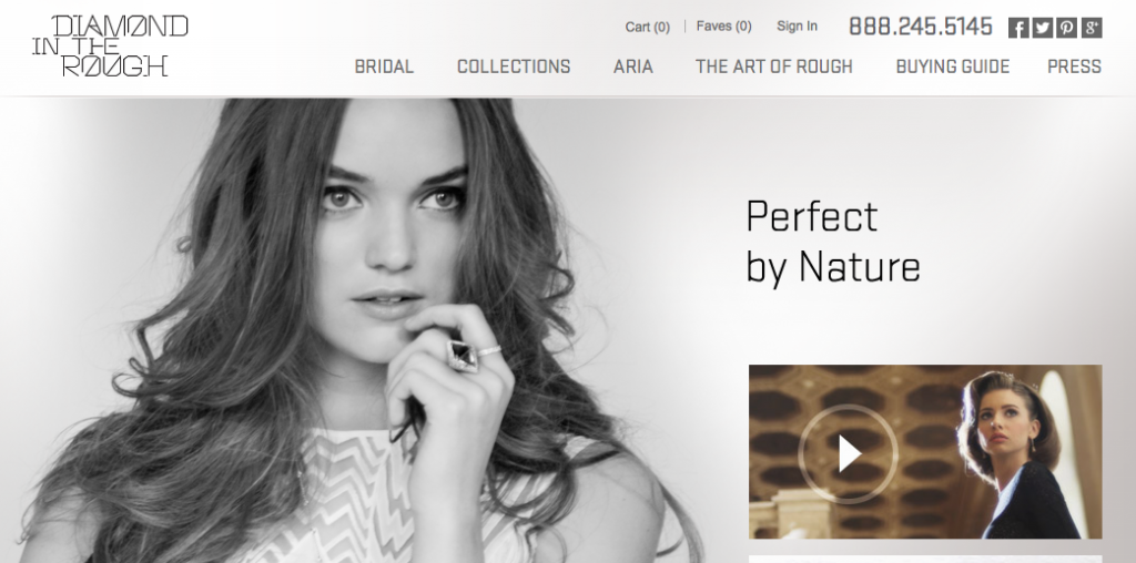 jewellery ecommerce website design inspiration 3