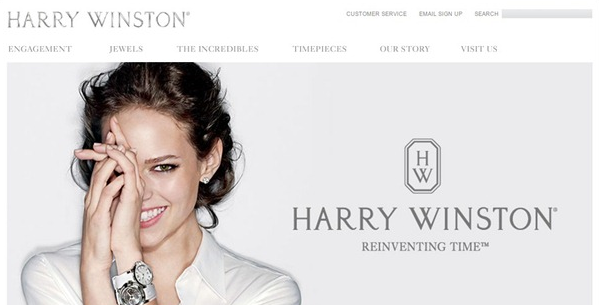 jewellery ecommerce website design inspiration 5