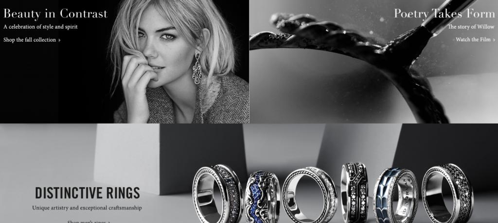 jewellery ecommerce website design inspiration 6