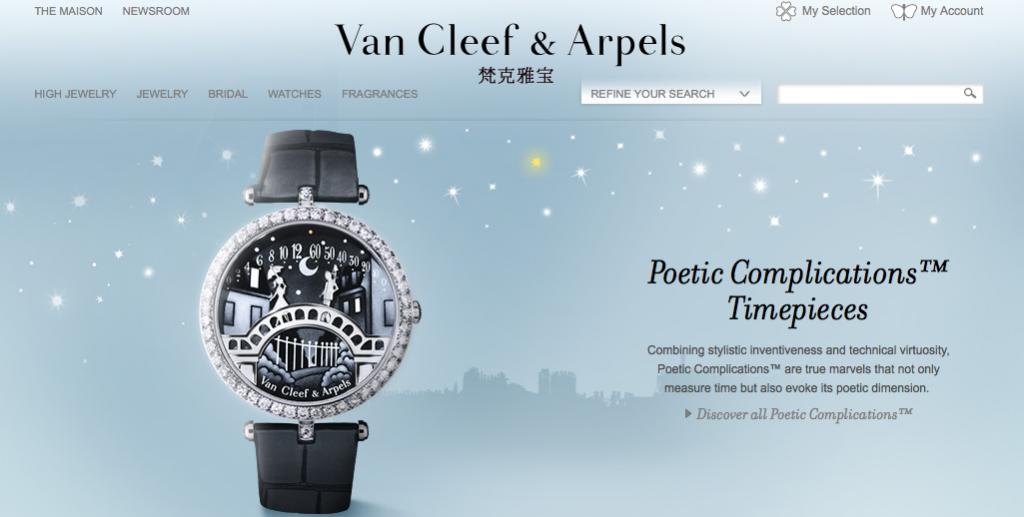 jewellery ecommerce website design inspiration 7