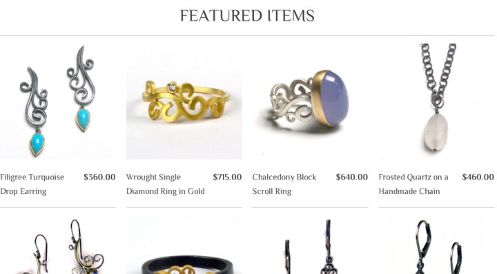 jewellery ecommerce website design inspiration 8
