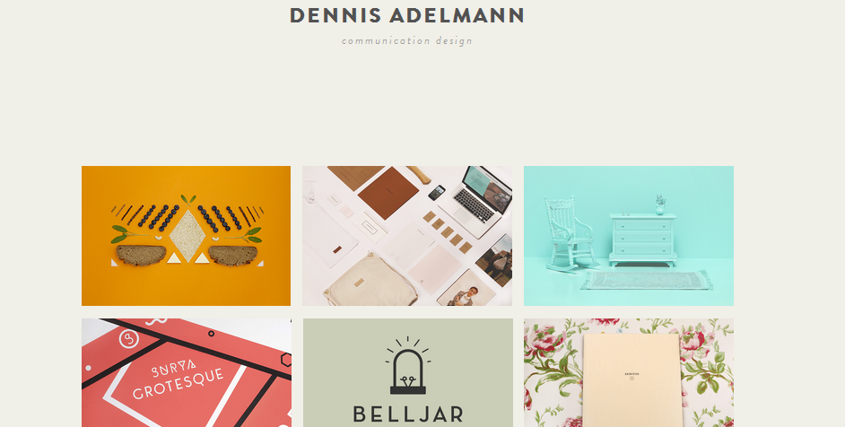 personal homepage design inspiration 1