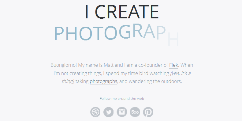 personal homepage design inspiration 13