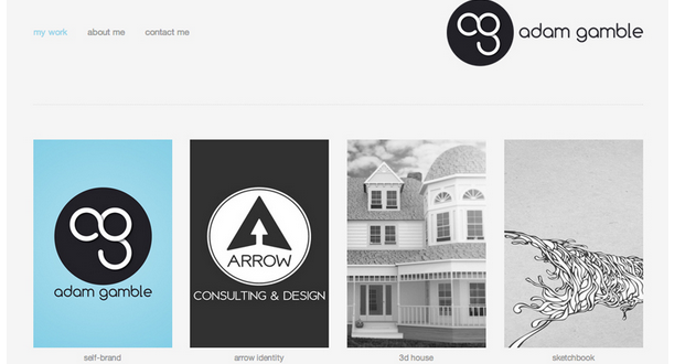 personal homepage design inspiration 14
