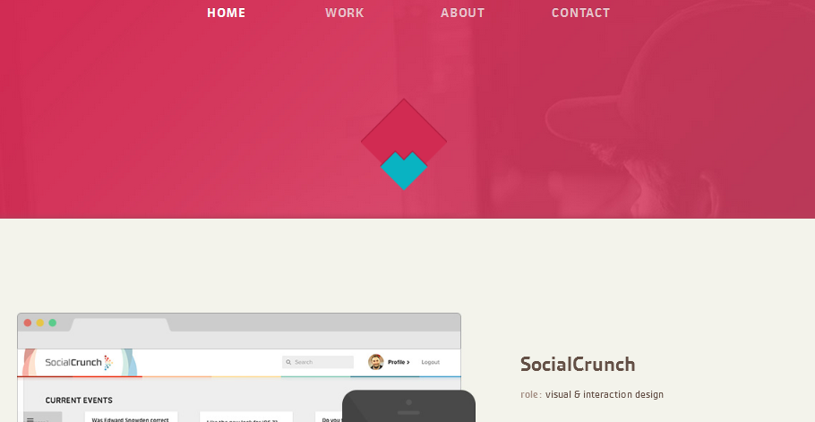personal homepage design inspiration 2-1