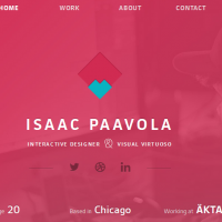 personal homepage design inspiration 2-2