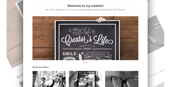 personal homepage design inspiration 9