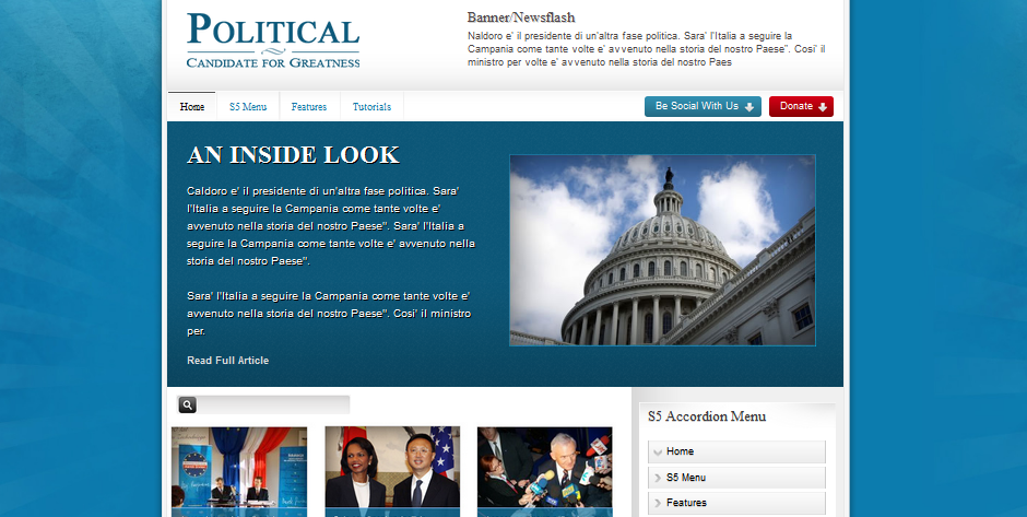 wordpress theme for city government 2