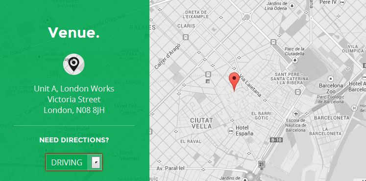 wordpress themes with interactive map 10.1