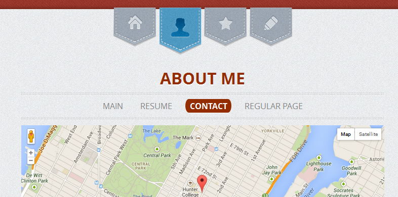 wordpress themes with interactive map 15