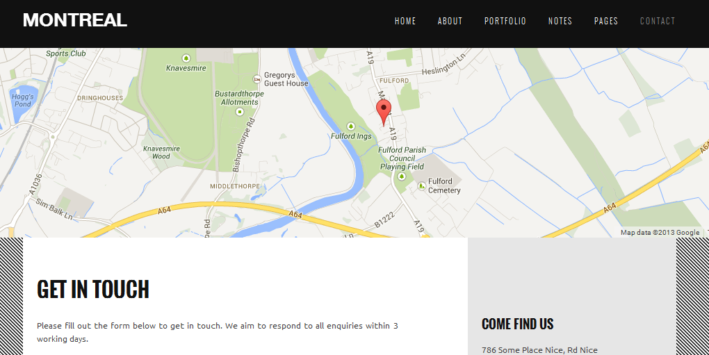 wordpress themes with interactive map 3
