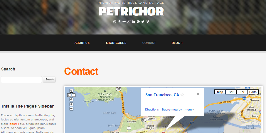 wordpress themes with interactive map 6