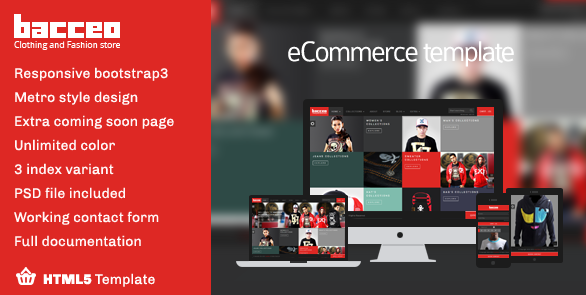bootstrap 3 ecommerce template 1