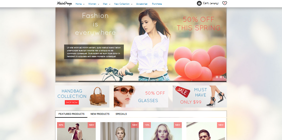 bootstrap 3 ecommerce theme 2