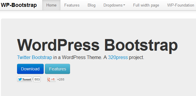 bootstrap wordpress framework 2-1