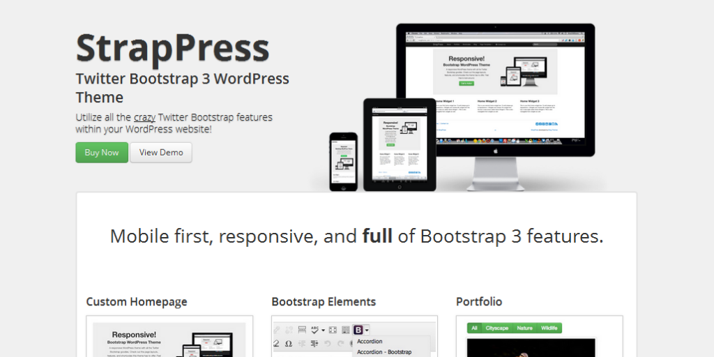 8 Must see bootstrap wordpress framework