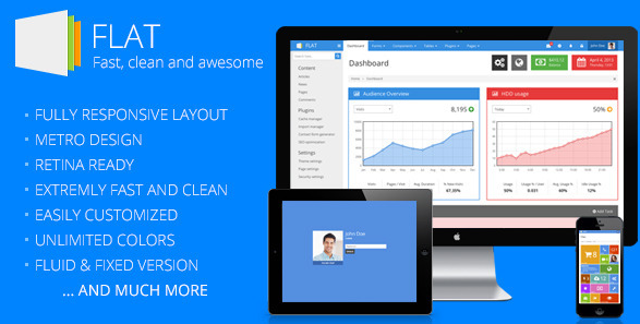 flat ui bootstrap template 1