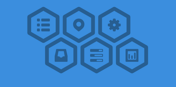 free hexagon icon set 2