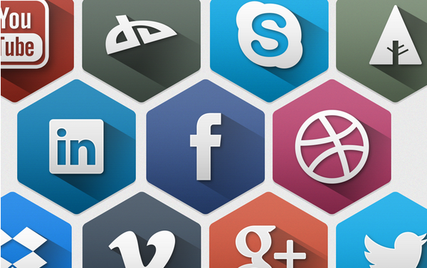 free hexagon icon set 6
