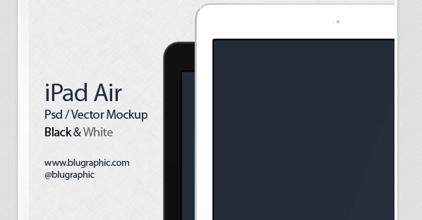 free ipad wave psd mockup 2