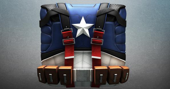 marvel and dc superhero icon 1