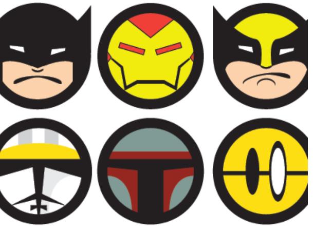 marvel and dc superhero icon 15