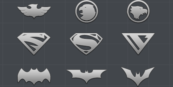 marvel and dc superhero icon 4