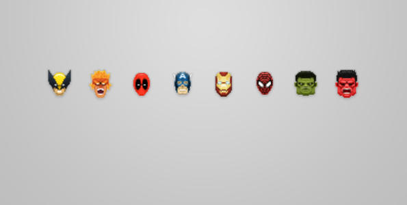 marvel and dc superhero icon 5