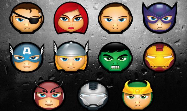 marvel and dc superhero icon 8