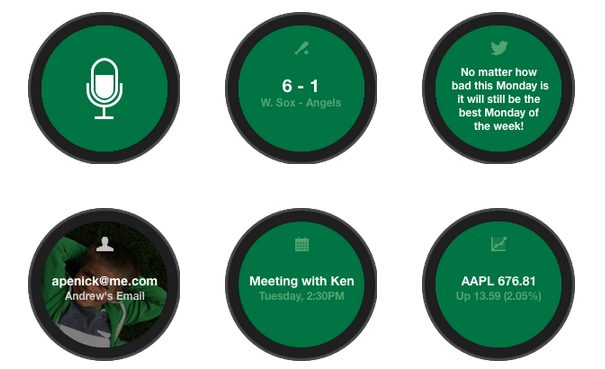 smartwatch interface design example 4-2