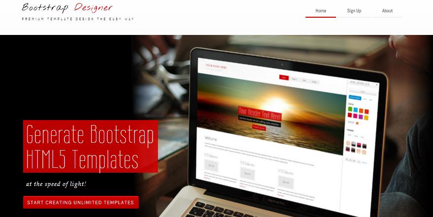 best bootstrap design tool 4