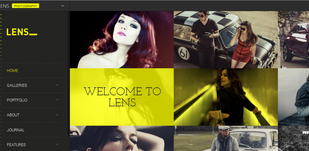 flat photography wordpress themes 3