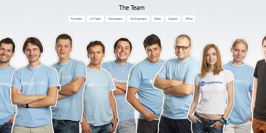 team page design inspiration 11