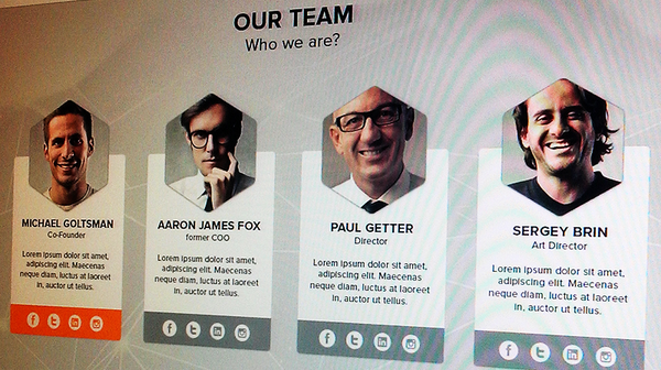 team page design inspiration 6