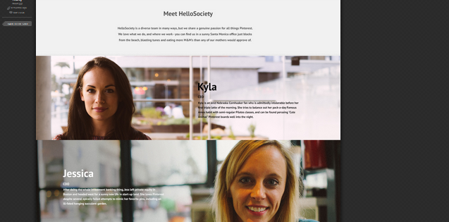 team page design inspiration 8