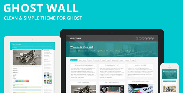 Best premium ghost blogging themes for 2014 10