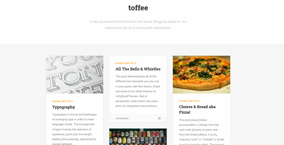 Best premium ghost blogging themes for 2014 12
