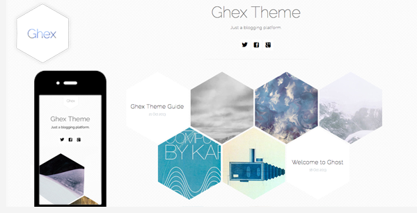 Best premium ghost blogging themes for 2014 14