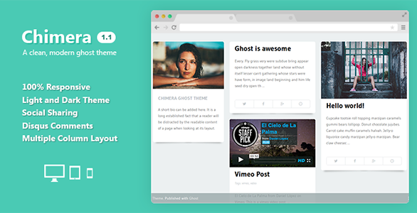 Best premium ghost blogging themes for 2014 15