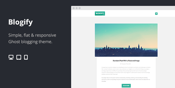 Best premium ghost blogging themes for 2014 4