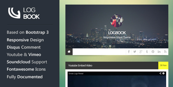 Best premium ghost blogging themes for 2014 5