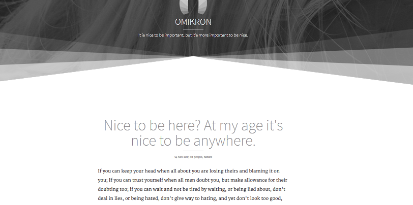 Best premium ghost blogging themes for 2014 9